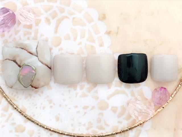 天然石×大人カラー