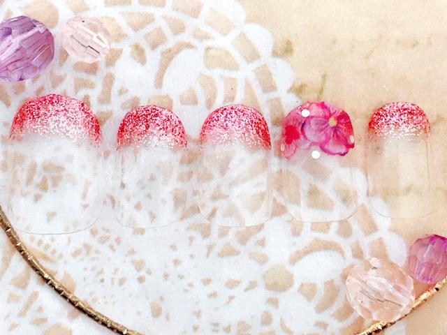 ラメグラ×水彩花