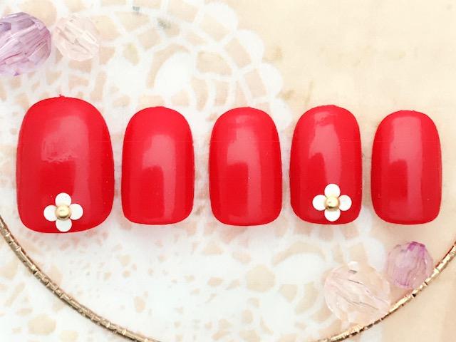 赤×ホロ×お花